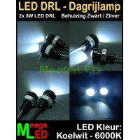 LED-Auto-Dagrijverlichting-DRL-2x3W-Wit