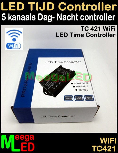 LED-Dimmer-WiFi-Tijd-Controller-TC421-USB