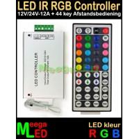 LED-Controller-RGB-IR-12V-24V-12A-AB-44Key