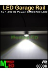 LEDgaragerail-1LED-25-80-cm