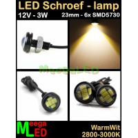 LED-Inbouwspot-Downlight-Mini-12V-3W-WW-M16-23mm-NDB