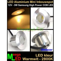 LED-Inbouwspot-Downlight-Mini-12V-3W-WW-M2-DB