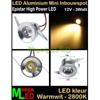 LED-Inbouwspot-Downlight-Mini-12V-3W-WW-M1-NDB