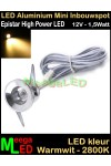 LED-Inbouwspot-Downlight-Mini-12V-1,5W-WW-M1-DB