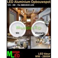 LED-Opbouwspot-Panel-Mini-12V-3W-WW-M31-DB