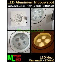 LED-Inbouwspot-Lecco-Wit-VK-IP54-12V-5W-WW-DB