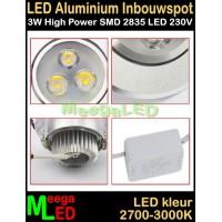 LED-Inbouwspot-Ra-3W-WW-NDB
