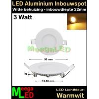 LED-Inbouwspot-Panel-Rond-Wit-3W-WW-NDB