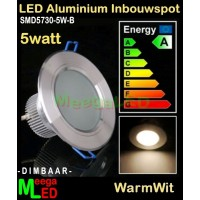LED-Inbouwspot-Downlight-SMD5730-5W-WW-DB