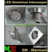 LED-Inbouwspot-Va-5x1W-Warmwit-DB