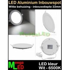 LED-Inbouwspot-Panel-Rond-Wit-6W-W-NDB