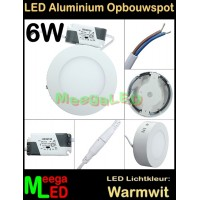 LED-Opbouwspot-Panel-Rond-Wit-6W-WW-NDB
