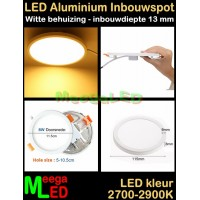 LED-Inbouwspot-Panel-Rond-8W-Wit-WW-NDB