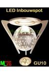LED-Inbouwspot-Luxe-Pyramide-Glaskogel