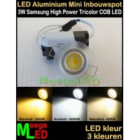 LED-Inbouwspot-Downlight-Mini-230V-3W-M5-Trichromatic-NDB