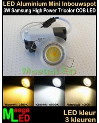 LED-Inbouwspot-Downlight-Mini-230V-3W-Trichromatic-M5-NDB