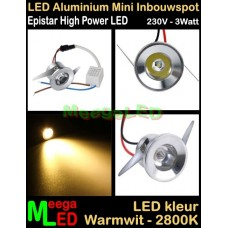 LED-Inbouwspot-Downlight-Mini-230V-3W-WW-M1-NDB