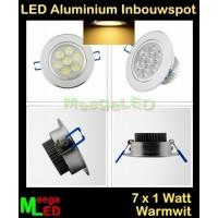 LED-Inbouwspot-Ra-7x1W-WW-NDB