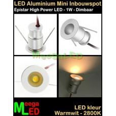 LED-Inbouwspot-Downlight-Mini-12V-1W-WW-M6-NDB