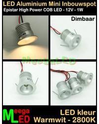 LED-Inbouwspot-Downlight-Mini-12V-1W-WW-M20-DB