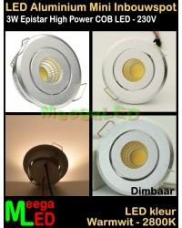 LED-Inbouwspot-Mini-230V-3W-WW-M41-Dimbaar