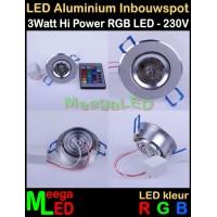 LED-Inbouwspot-RGB-3W