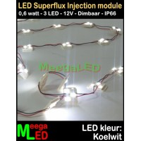 LED-module-Superflux-3LED-Wit-6000k