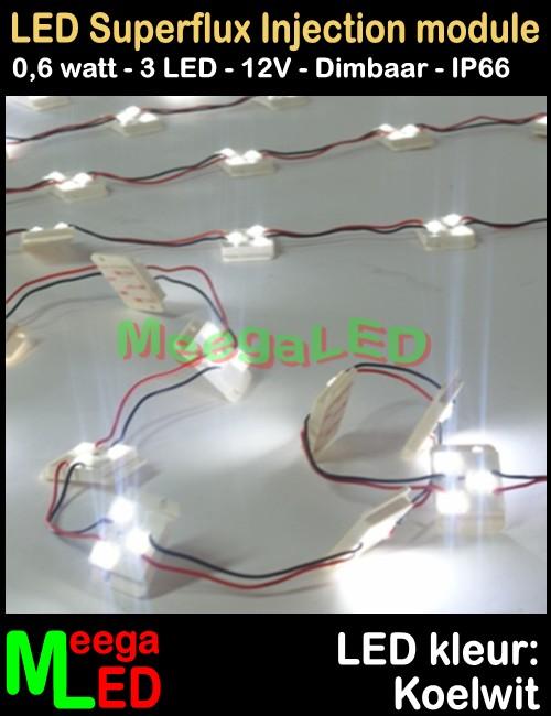 Swell Led Module Superflux 3Led Wit 6000K Wiring Digital Resources Nekoutcompassionincorg