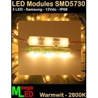 LED-module-SMD5730HL-3LED-Warmwit-2800k