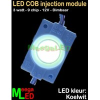 LED-module-COB-9chip-3W-Wit-6500K