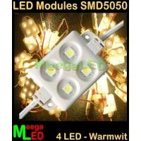 LED-module-SMD5050-4LED-Warmwit-2800k