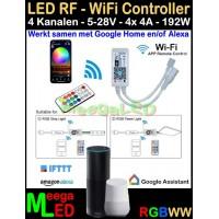 LED-Tuya-RGBW-RF-Wifi-Controller