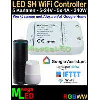 LED-Dimmer-RGBW-Wifi-Controller