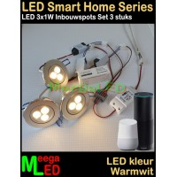 LED-Tuya-Smart-Home-Set-3x1W-Inbouwspots