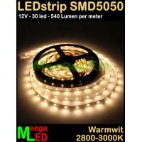 LED-strip-12V-SMD5050-30LED-Warmwit-2900k