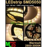 LED-strip-12V-SMD5050-60LED-Warmwit-2900k