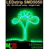 LED-strip-12V-SMD5050-60L-Groen