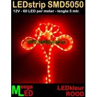 LED-strip-12V-SMD5050-60L-Rood