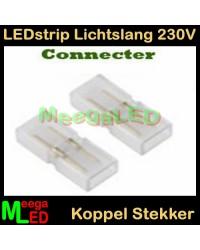 LED-strip-230V-Lichtslang-Koppelstuk