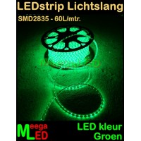 LED-strip-230V-Lichtslang-Groen-SMD2835-60LED