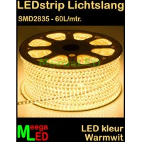 LED-strip-230V-Lichtslang-Warmwit-SMD2835-60LED