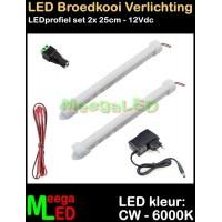 LED-Profiel-Rigid-Strip-SET-Vogelkooi-Diversen