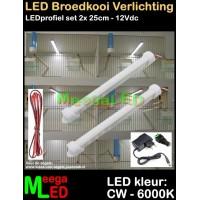 LED-Profiel-Rigid-Strip-SET-2x-25cm-Vogelkooi