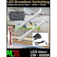 LED-Profiel-Rigid-Strip-SET-2x-25cm-TC420-Vogelkooi
