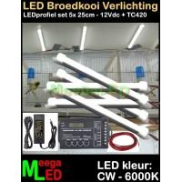 LED-Profiel-Rigid-Strip-SET-5x-25cm-TC420-Vogelkooi