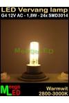 LED-G4-24SMD3014-12Vac-1,8W