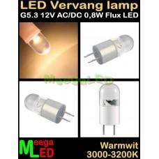LED-G5.3-rond-Flux-12V-18V-0,8W
