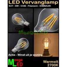 LED-E27-A60-Filament-Lamp-6W-COB-WW-Dimbaar