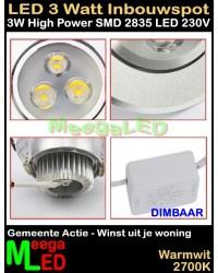 LED-Inbouwspot-WUJW-3W-WW-Dimbaar