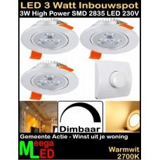LED-Inbouwspot-WUJW-3W-WW-Dimbaar-3Stuks-Dimmer
